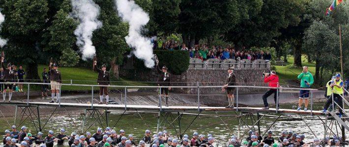 Knapp 50 Ehrenamtliche bei Absicherung des Chiemsee Triathlons im Einsatz