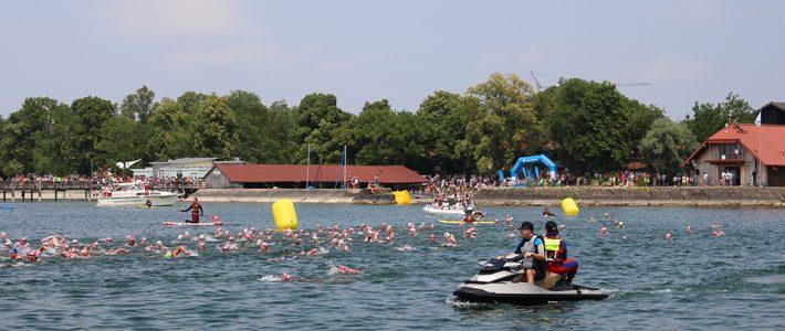 Welliger Chiemsee Triathlon fordert Rettungskräfte