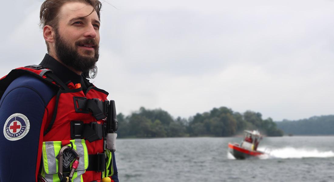 Für sicherheit  am und im Wasser
